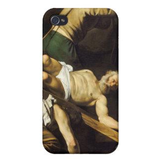 Crucifixion of Saint Peter - Caravaggio Cases For iPhone 4
