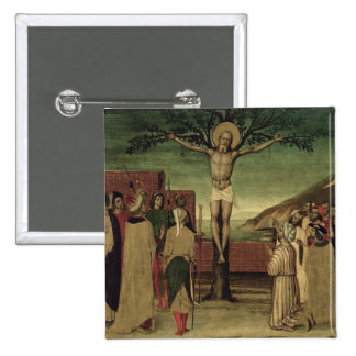 Crucifixion of St. Andrew Button