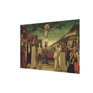 Crucifixion of St. Andrew Canvas Print