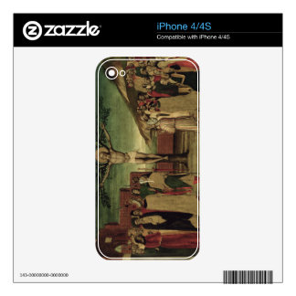 Crucifixion of St. Andrew Decal For The iPhone 4S