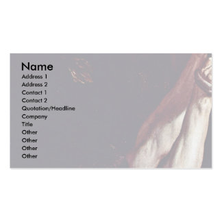 Crucifixion Of St. Peter'S Details By Reni Guido Business Card