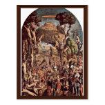 Crucifixion Of The Ten Thousand On Mount Ararat Post Card