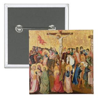 Crucifixión Pin Cuadrada 5 Cm