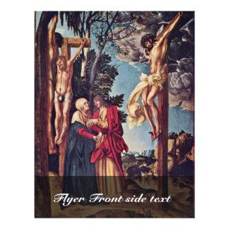 Crucifixión por Cranach D. Ä. Lucas (la mejor cali Tarjetón