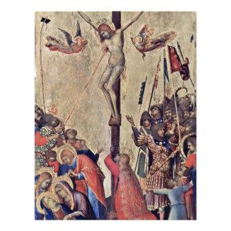 Crucifixión por Martini Simone (la mejor calidad) Tarjeton