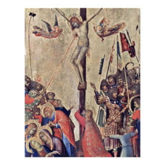 Crucifixión por Martini Simone (la mejor calidad) Membrete