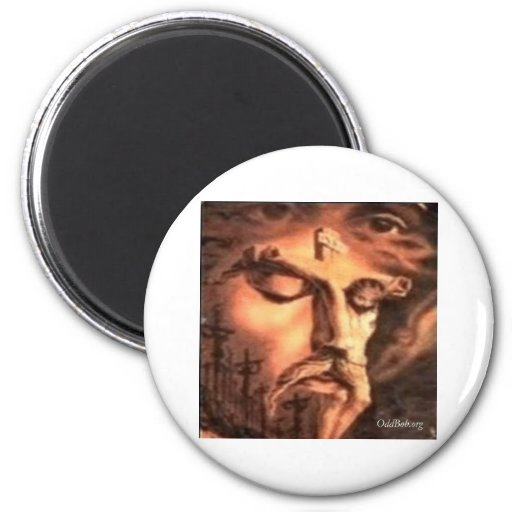 Crucifixion Refrigerator Magnets