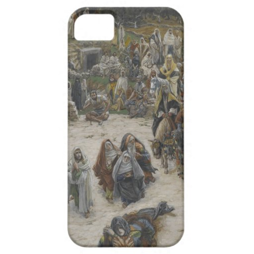 crucifixion seen from the cross James Tissot iPhone 5 Cover