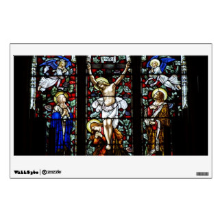 Crucifixion (Stained Glass) Wall Decal
