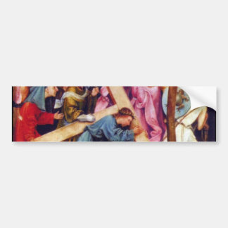 Crucifixion transmission (Christ on Calvary) Bumper Sticker