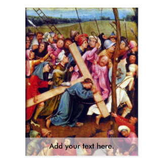 Crucifixion transmission (Christ on Calvary) Postcard