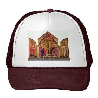 Crucifixion Triptych Left: St. Nicholas Trucker Hat