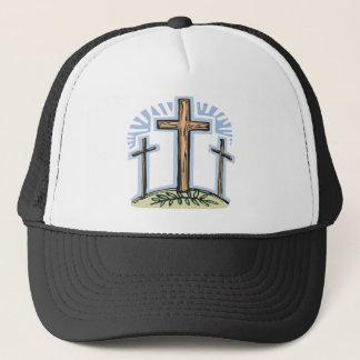 Crucifixion Trucker Hat