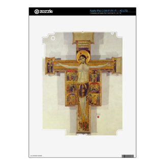 Crucifixion, Tuscan School, second half of 12th ce Decal For iPad 3