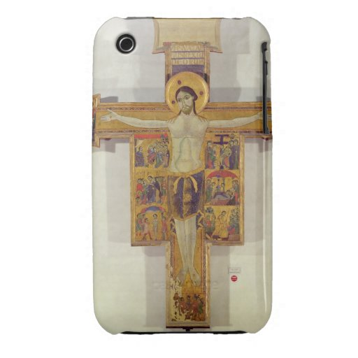Crucifixion, Tuscan School, second half of 12th ce iPhone 3 Cover