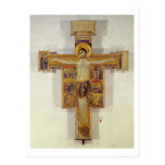 Crucifixion, Tuscan School, second half of 12th ce Post Cards