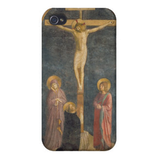 Crucifixion with the Virgin, SS. John the Evangeli iPhone 4/4S Case