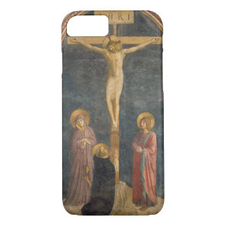 Crucifixion with the Virgin, SS. John the Evangeli iPhone 8/7 Case