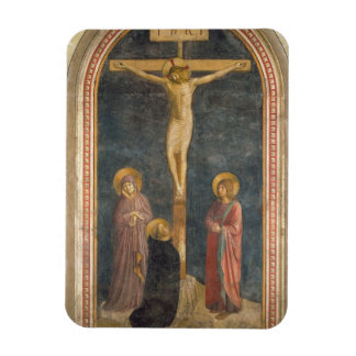 Crucifixion with the Virgin, SS. John the Evangeli Magnet