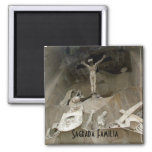 Crucifixtion Magnets
