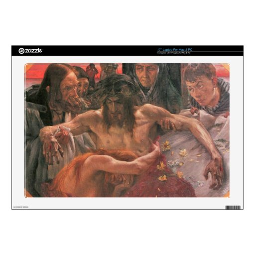 """Crucify by Lovis Corinth Skins For 17"""" Laptops"""