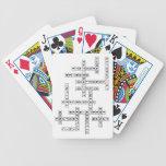 Crucigrama de Freethought Baraja Cartas De Poker