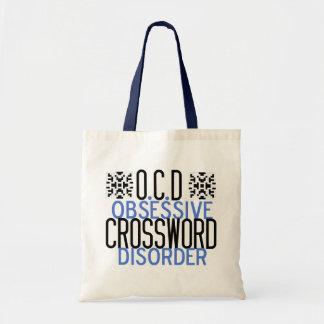 Crucigrama obsesionado bolsa