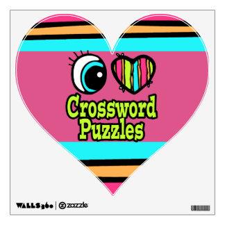 Crucigramas brillantes del amor del corazón I del