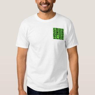 Crucigramas, rompecabezas de la palabra camisas