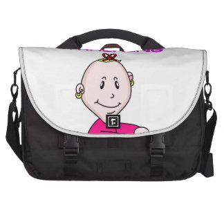 cruciverbalist baby laptop bags