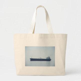 Crude Oil Tanker Large Tote Bag