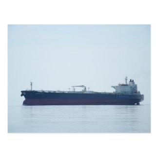 Crude Oil Tanker Postcard