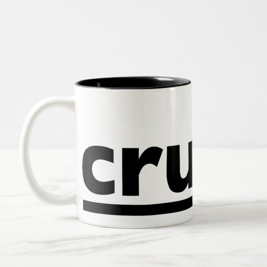 crudmug Two-Tone coffee mug