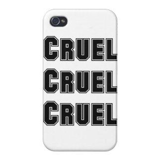 Cruel cruel, cruel. El decir malvado de Abed de la iPhone 4/4S Fundas
