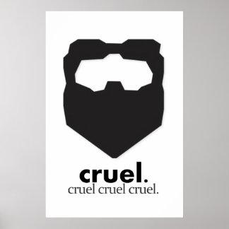 Cruel Cruel Cruel Poster