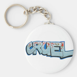 cruel keychain