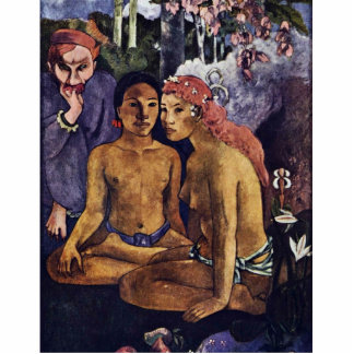 Cruel Tales (Exotic Saying) By Gauguin Paul Photo Cut Out
