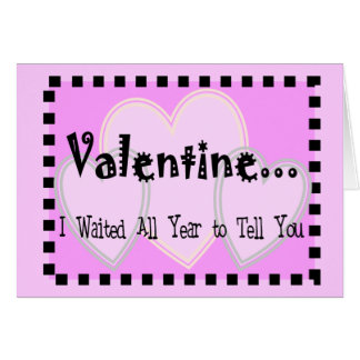 Cruel Valentine Card--Very funny and very mean