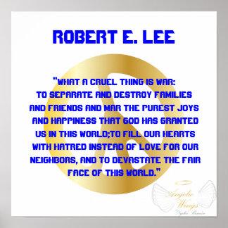Cruel War! Robert E. Lee -Customize Posters