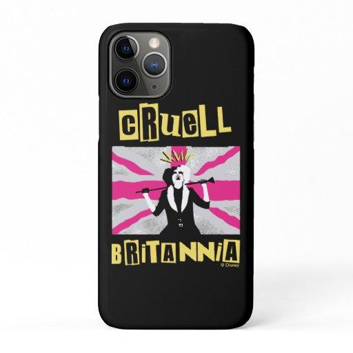 Cruella | Cruell Britannia Flag Pop Art iPhone 11 Pro Case