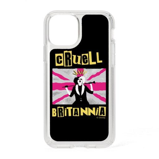 Cruella | Cruell Britannia Flag Pop Art Speck iPhone 11 Pro Case