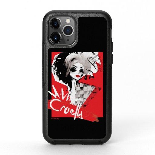 Cruella | Fashion Model Cruella Collage OtterBox Symmetry iPhone 11 Pro Case