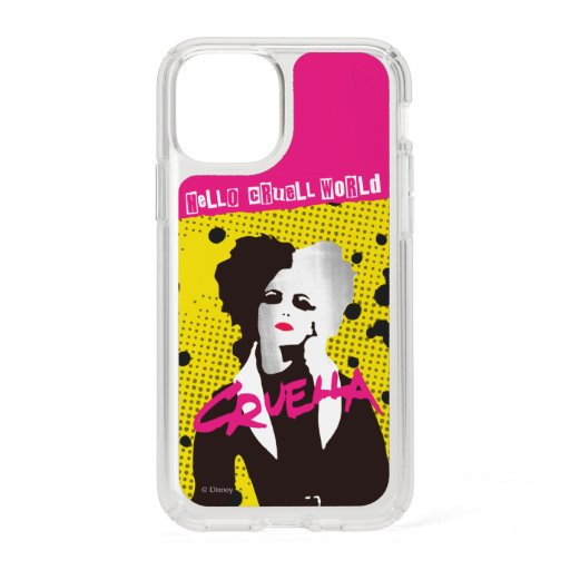 Cruella | Hello Cruell World Ransom Stencil Art Speck iPhone 11 Pro Case