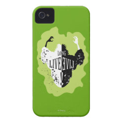 Case-Mate iPhone 4 Barely There Universal Case with Cruella: Long Live Evil design