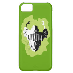 Case-Mate Barely There iPhone 5C Case with Cruella: Long Live Evil design