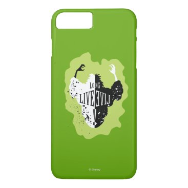 Disney Themed Cruella - Long Live Evil iPhone 7 Plus Case