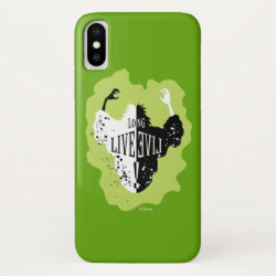 Case-Mate Barely There iPhone X Case with Cruella: Long Live Evil design