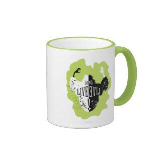 Cruella - vive de largo el mal taza de dos colores