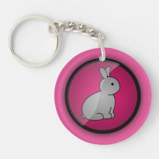 Cruelty-free Bunny Keychain