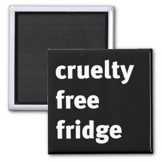 Cruelty Free Fridge Bold Refrigerator Magnets